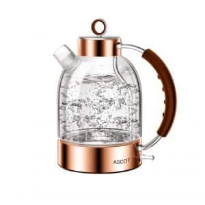 Electric Kettle, ASCOT Glass Electric Tea Kettle