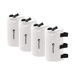 Anavim Canopy Water Weights Bags 4 Packs