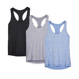 icyzone Women's Athletic Shirts