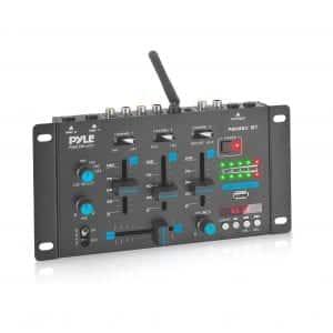 Pyle Bluetooth Compatible Wireless DJ Mixer